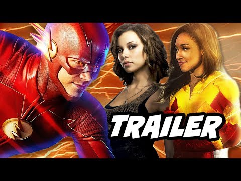 The Flash Season 4 Nora Allen and Iris West Flash Trailer Breakdown thumbnail