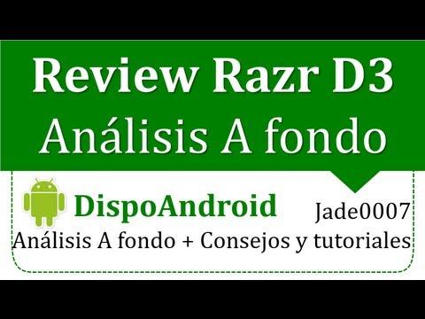 Motorola Razr D3: Análisis A fondo + Consejos Y Tutoriales