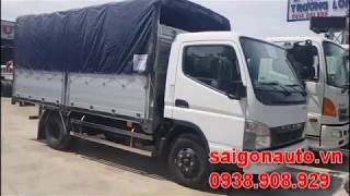0938908929 Xe tải Fuso Canter 6.5| xe tải Fuso Canter 3.5 tấn| 3T5 thùng nhôm