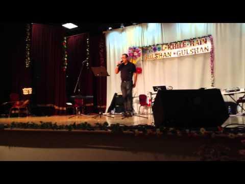 Sandeep sings Kiska Hai Yeh Tumko Intezaar Main Hoon Na