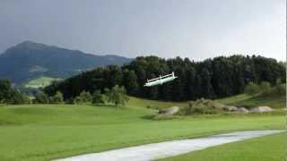 Eigenbau Fluggerät mit Flettner-Rotoren als Auftriebserzeuger