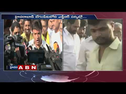 Nandamuri Balakrishna and TDP Leaders Pays Tribute to NTR | ABN Telugu