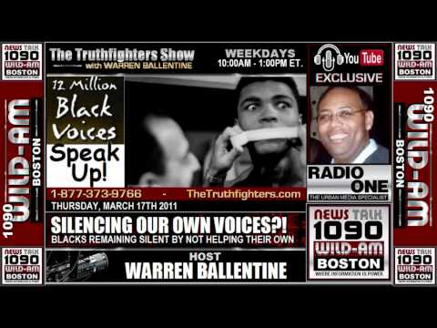Warren Ballentine Show - Keepin' Our Own Black Voices Slient!!