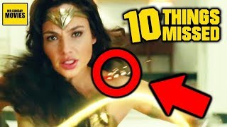 Ten Details Missed In Wonder Woman 1984 (Official Trailer Breakdown)
