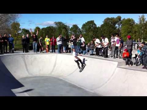 Skateboarding Backflip - Taylor Bray