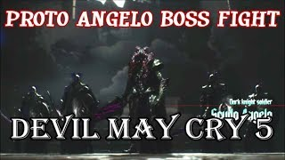 Devil May Cry 5 - Mission 7 - Proto Angelo Boss Fight (With Cutscenes)