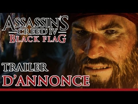 Assassin's Creed 4 Black Flag - Trailer d'annonce [FR]