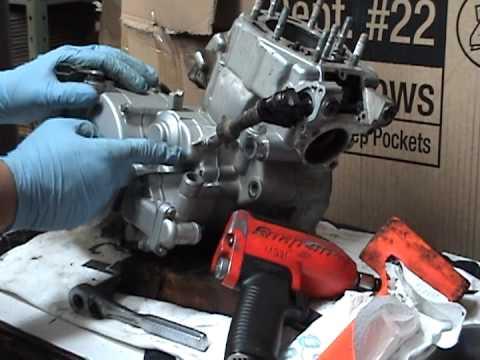 Kdx 125 Parts Kdx Motor Teardown Part 1.mpg