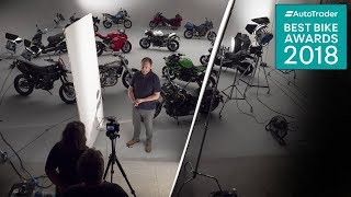 Behind the scenes at Auto Trader's Best Bike Awards 2018