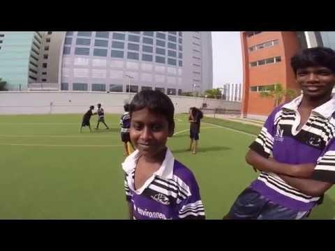 Au coeur du Rugby Slums Club Chennai