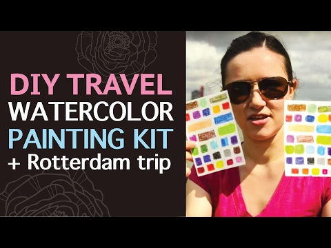 My Travel Sketchbook - Rotterdam