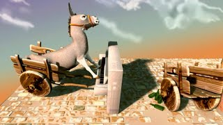 3D Animation Short Film HD// Donkey Playing Piano// Musical Animation and talented animals