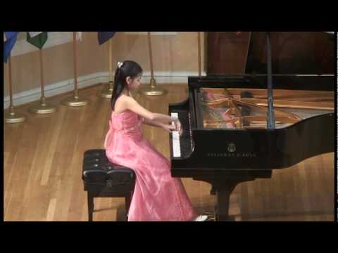 Claire Lee, student of Dr. Victor Sevtsov, playing The Lark, Glinka / Balakirev