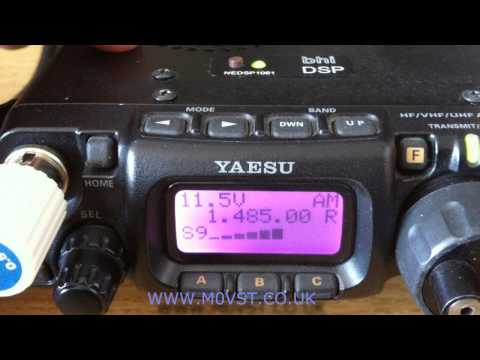 The Bhi NEDSP1061 Noise Eliminating PCB Module in the Yaesu FT-817nd - part 2 - M0VST [HD]