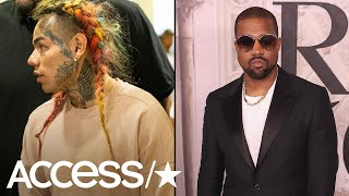 Shots Fired Near Tekashi 6ix9ine & Kanye West Music Video Shoot | Access
