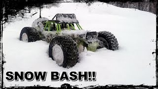 RC WL TOYS ROCK RACER BUGGY SNOW BASH