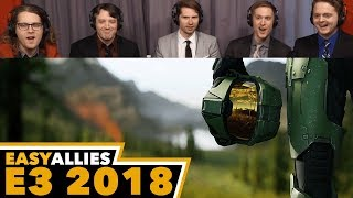 Halo Infinite - Easy Allies Reactions - E3 2018