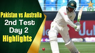 Pakistan Vs Australia   Highlights   2nd Test Day 2   PCB