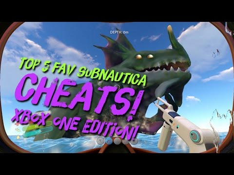 subnautica cheat codes 2017 xbox one edition my top five. Black Bedroom Furniture Sets. Home Design Ideas