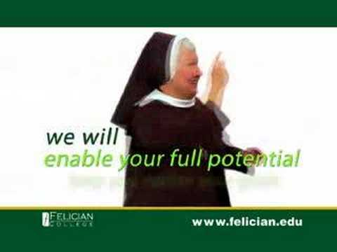 Felician College Commercial.