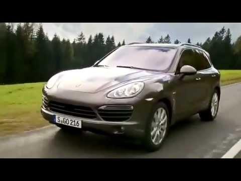 New Porsche Cayenne S Diesel promo video