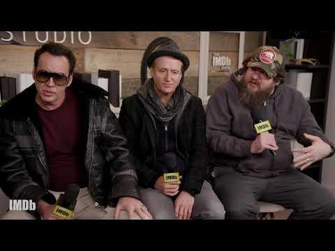 Nicolas Cage And Linus Roache Talk About Sundance Film 'Mandy' | SUNDANCE 2018