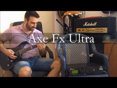 Axe Fx Vs Kemper Vs Bias Vs Real Amp Through Real Cabinet ( High Gain - Clean )