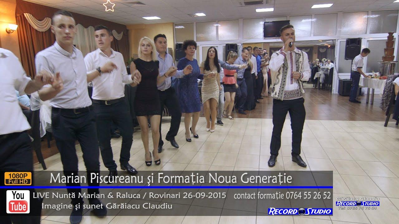 Marian Piscureanu si Noua Generatie Colaj SARBA LIVE part.1 Nunta Marian si Raluca 26-09-2015