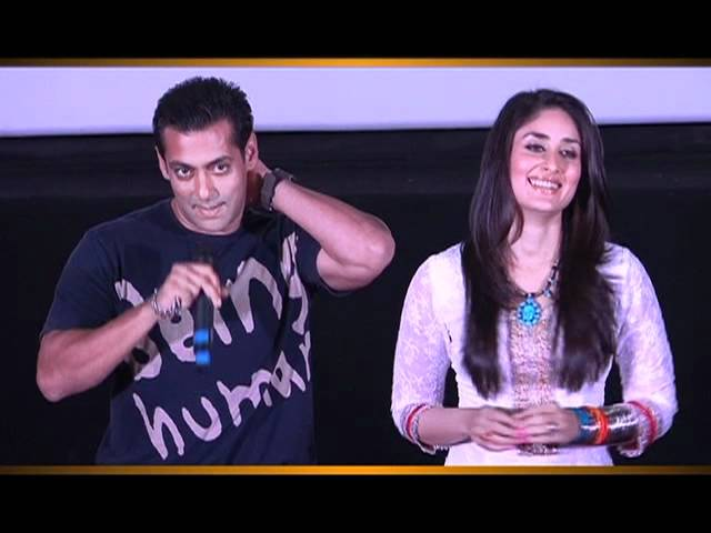 FIRST LOOK Launch - Bodyguard - Salman Khan & Kareena Kapoor