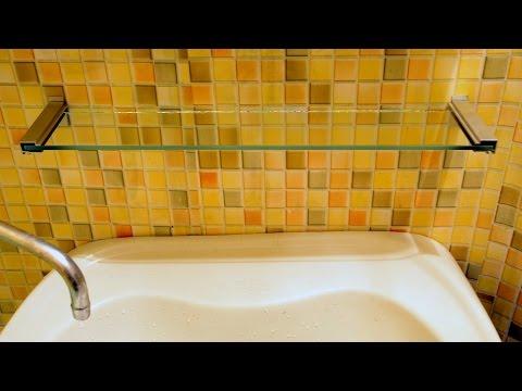 Полки в ванную своими руками «под бамбук»