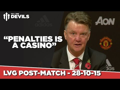 Manchester United 0-0 Middlesbrough (1-3 Penalties) | Louis Van Gaal Post Match Press Conference