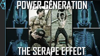 Training the Serape Effect for Maximum Power Generation