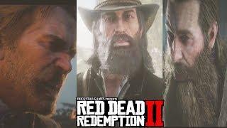 Red Dead Redemption 2 ALL ENDINGS - Ending (Good/Bad/Secret) - RDR 2 Death of Arthur & Micha