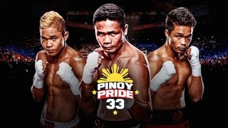 Pinoy Pride 33 FACE OFF & WEIGH IN