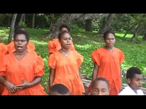 Iarke Presbyterian Youths- Tanna Island Vanuatu (OL TAEM MI SING BLONG PRAISEM JESUS)