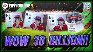 ~Best Diamond Package Man!~ August Diamond Package 2018 Opening - FIFA ONLINE 3