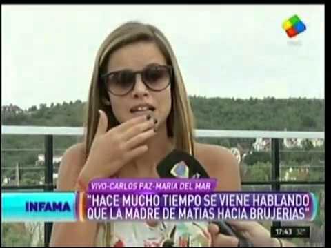 María del Mar: No sé de dónde sacaste eso, pero yo no voy a hablar