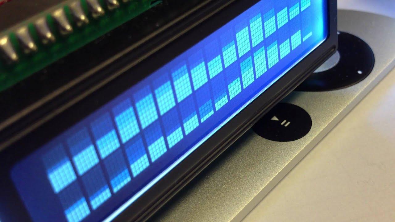 Analog VU meter and Clock using Arduino -Use Arduino