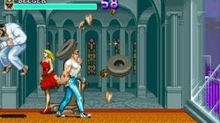 Final Fight 1 arcade gameplay playthrough longplay