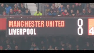 Un Domingo cualquiera (Manchester United vs Liverpool) Any Given Sunday