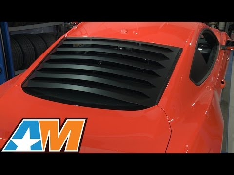 2015-2016 Mustang Aluminum Rear Window Louvers Review