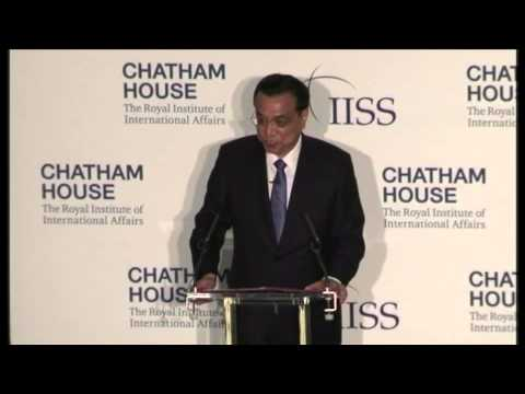 Keynote Address: Chinese Premier Li Keqiang