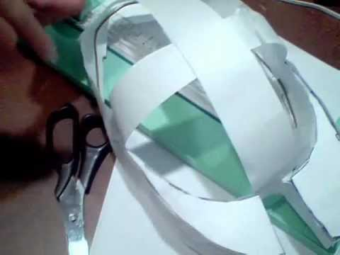 How to make paper halo armor without pepakura p. 3