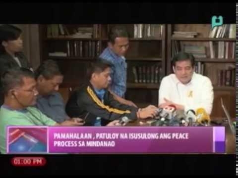 News@1: Pamahalaan, pursigidong ipasa ang Bangsamoro Basic Law    Feb. 3, 2015