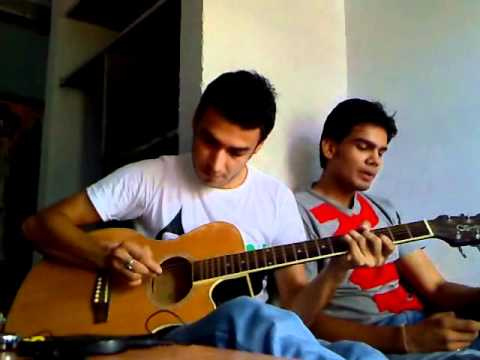 Abhishek Bhardwaj And Vishal Jha  TERI YAADEIN-LOVE STORY Guitar...