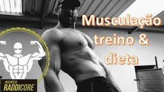 Musculação estética: treino & dieta #RADDICORE