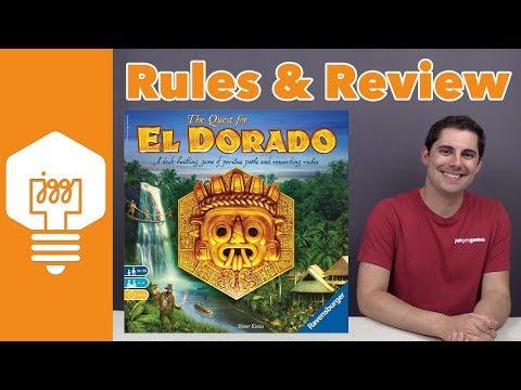 Quest for El Dorado Review - JonGetsGames