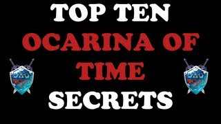 Top 10 Ocarina of Time Secrets and Easter Eggs 2013