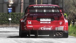 1996 Alfa Romeo 155 V6 Ti EPIC Sound In Action Around A Street Circuit