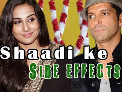 Watch Vidya Balan & Farhan Akhtar's SHAADI KE SIDE EFFECTS!